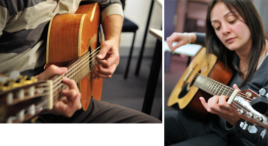 A course for guitar lovers of all ages