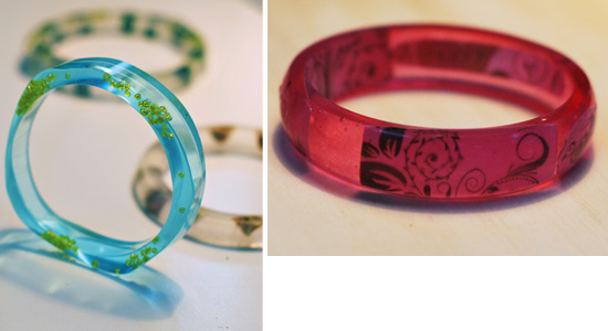 Learn how to make your own resin jewellery with this fabulous hands on course