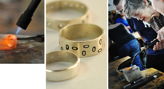 Design and create a beautiful ring in this fantastic one day class
