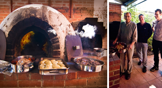 Transform your backyard into an outdoor kitchen with a fabulous wood fired oven perfect for bread, pizza and more